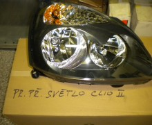 Přední světlo Clio 2.generace,pravé